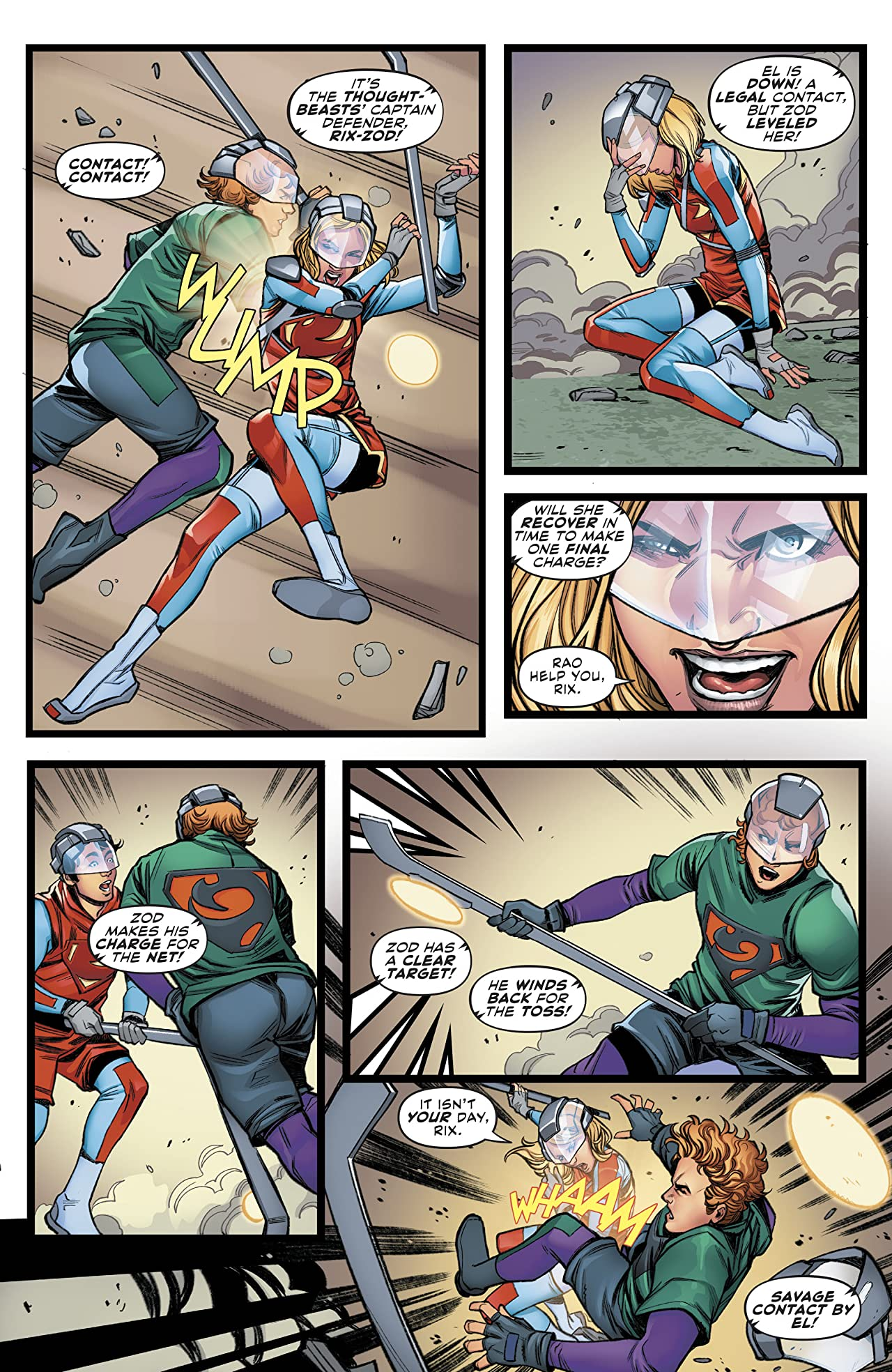 Supergirl (2016-) Annual #2