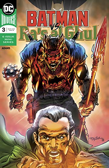 Batman vs. Ra's Al Ghul (2019-) #3