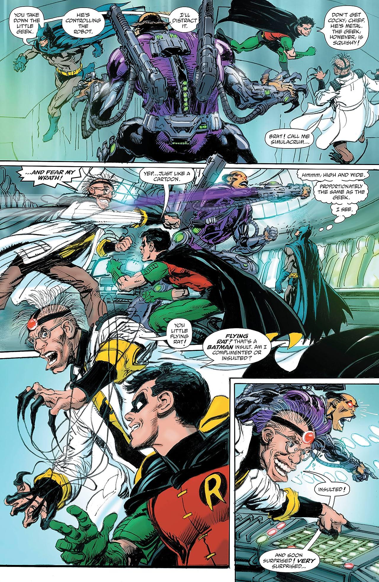 Batman vs. Ra's Al Ghul (2019-) #3