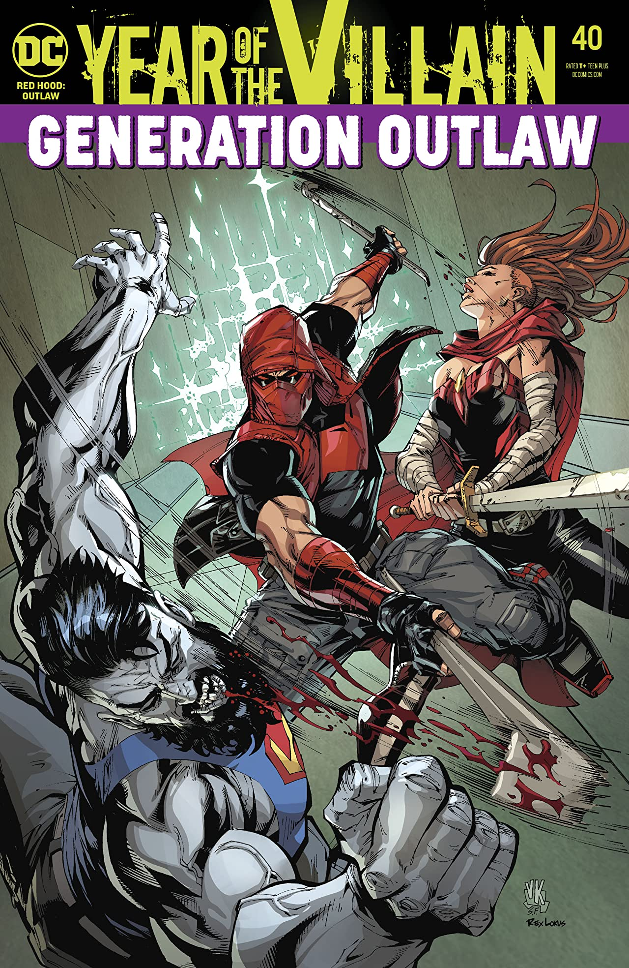 Red Hood and the Outlaws (2016-) No.40
