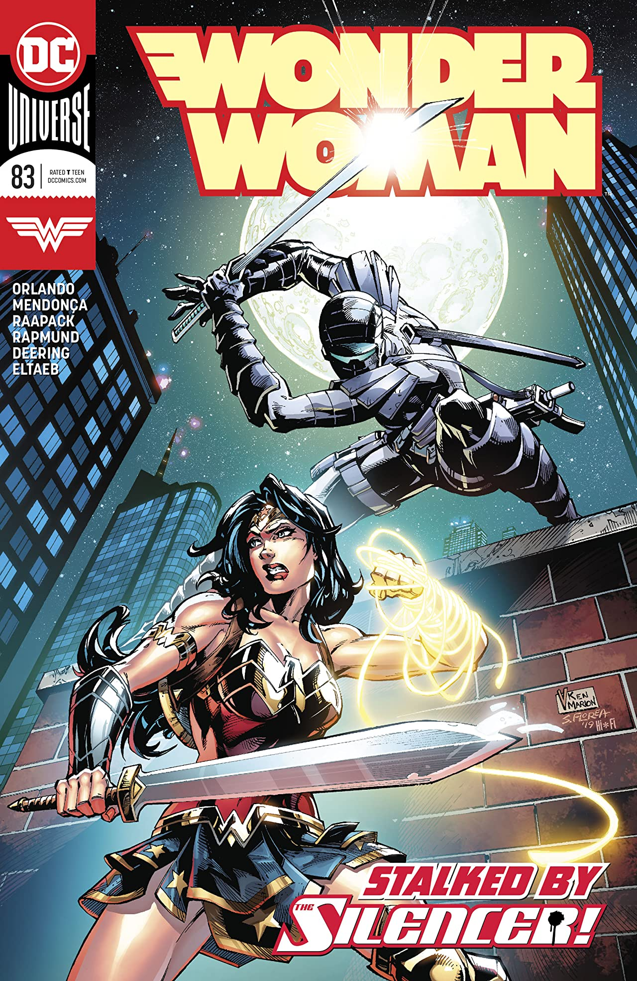 Wonder Woman (2016-) No.83