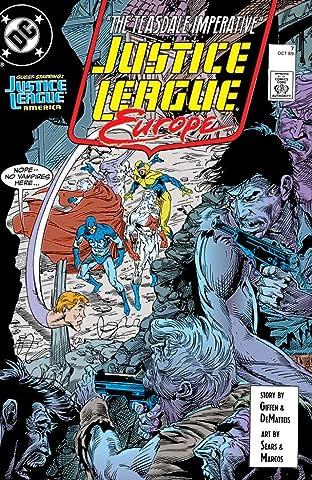 Justice League Europe (1989-1993) #7