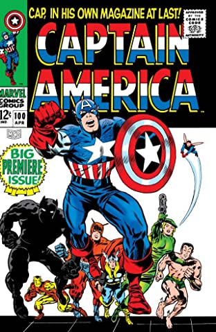 Captain America (1968-1996) No.100