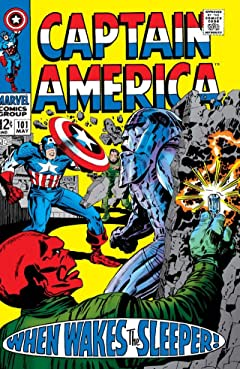 Captain America (1968-1996) No.101