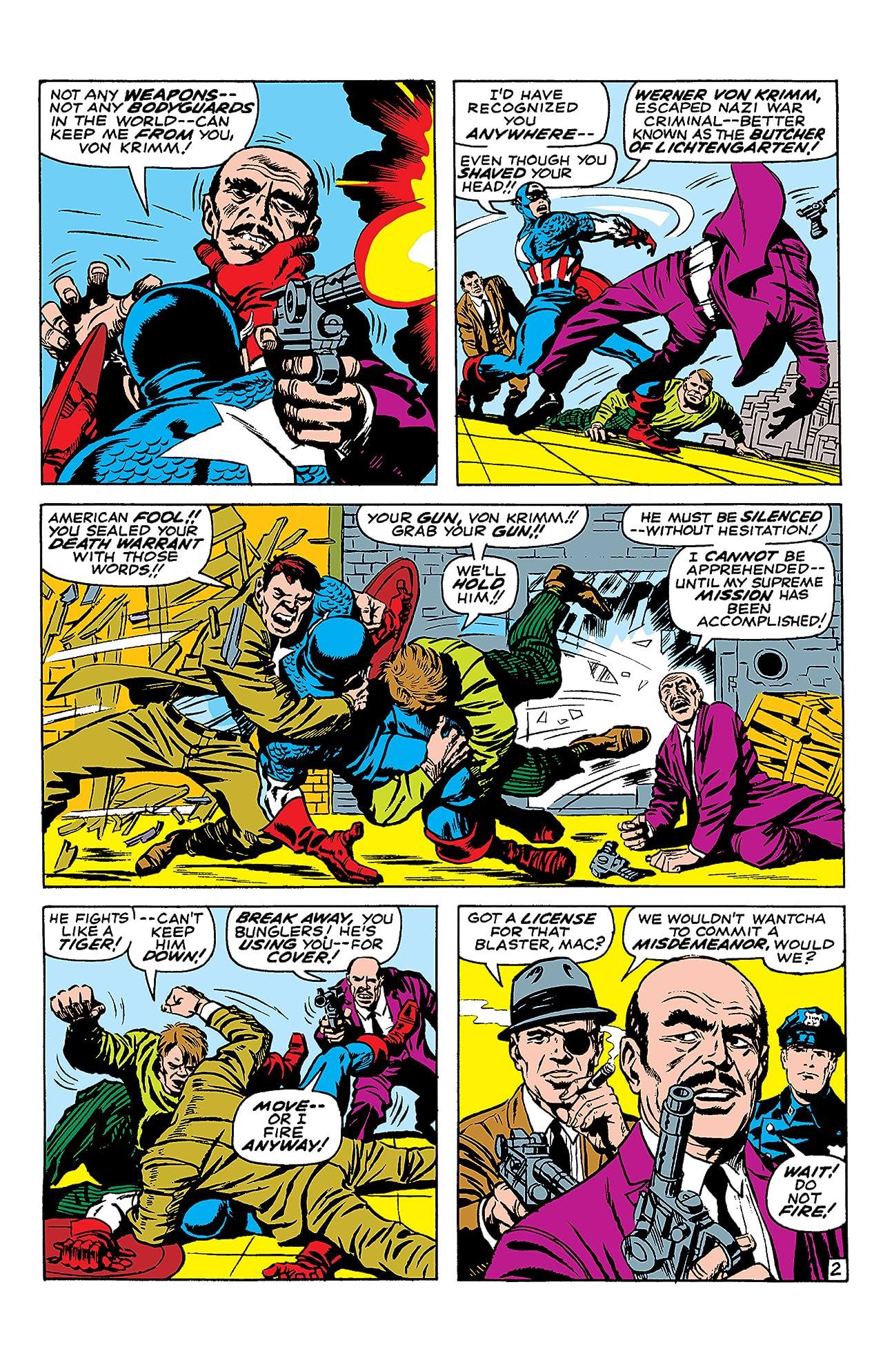 Captain America (1968-1996) #101