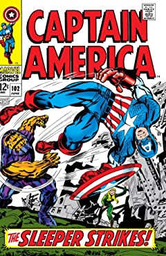 Captain America (1968-1996) No.102