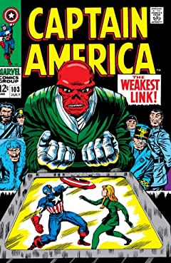 Captain America (1968-1996) No.103