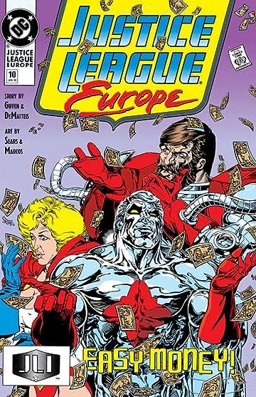 Justice League Europe (1989-1993) #10