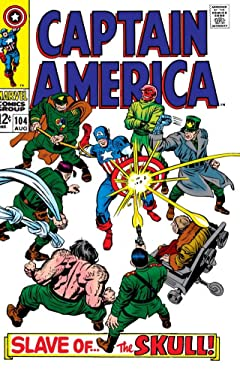 Captain America (1968-1996) No.104