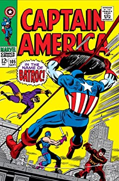 Captain America (1968-1996) No.105