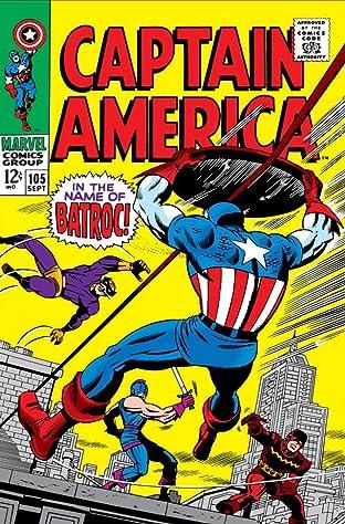 Captain America (1968-1996) No.105