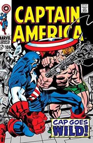 Captain America (1968-1996) No.106
