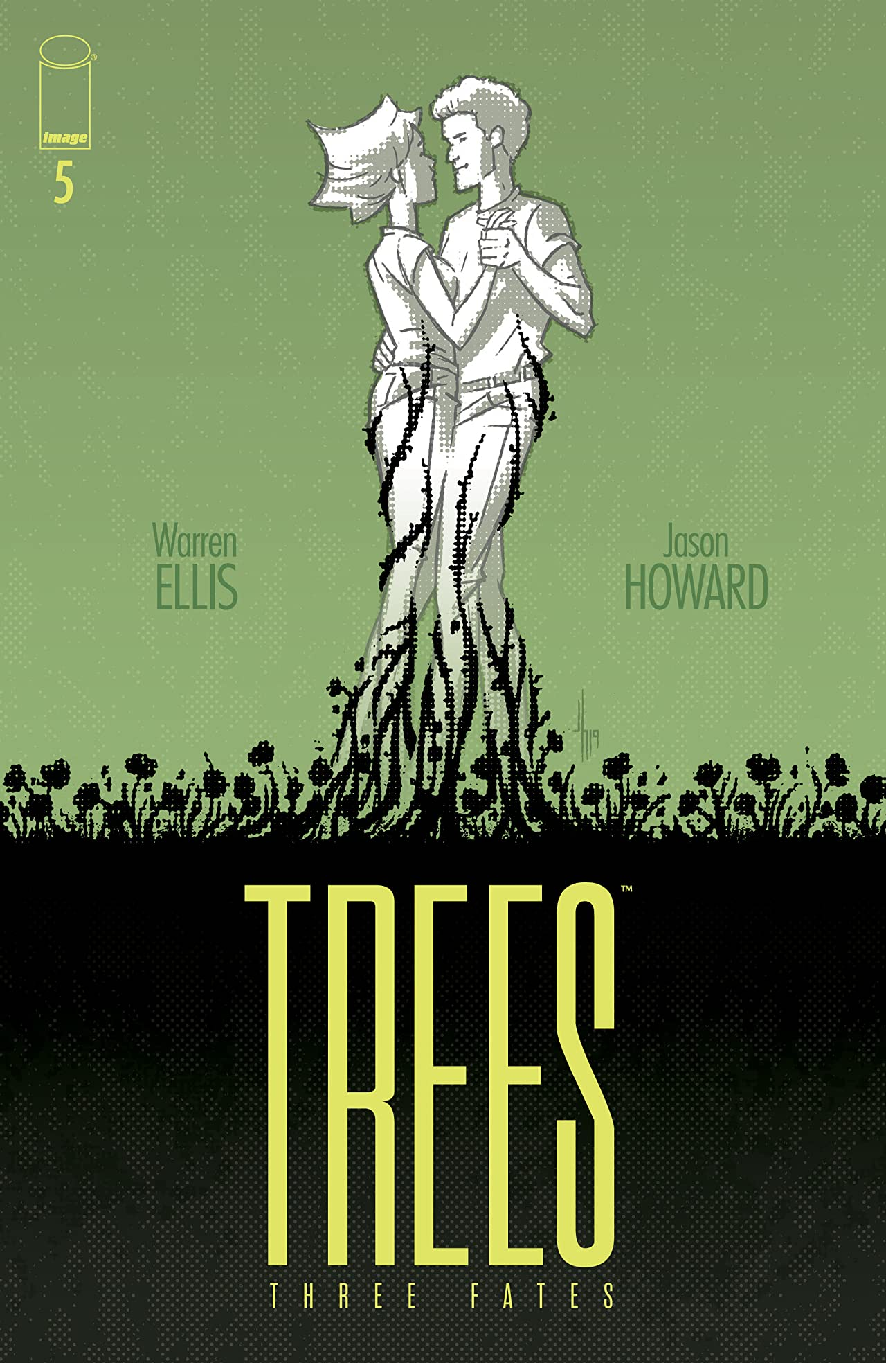 Trees: Three Fates No.5