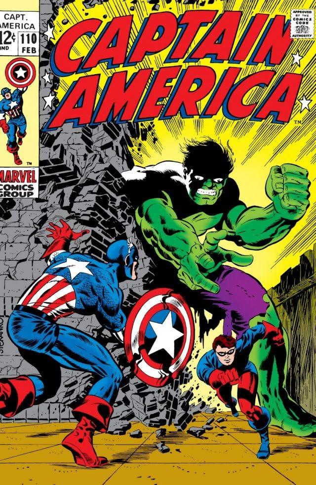 Captain America (1968-1996) #110
