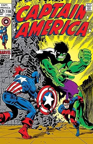 Captain America (1968-1996) No.110