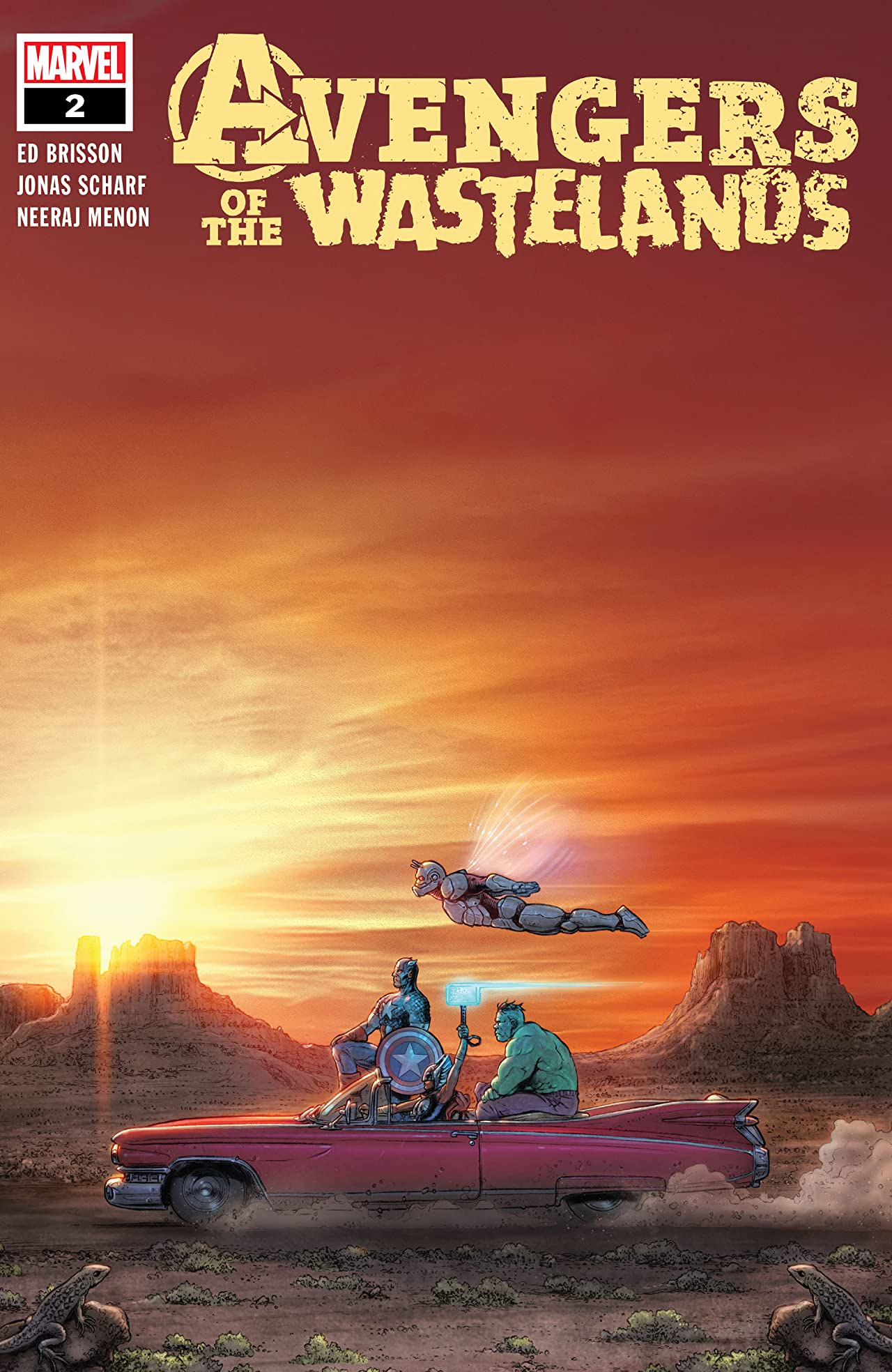 Avengers Of The Wastelands (2020) #2 (of 5)