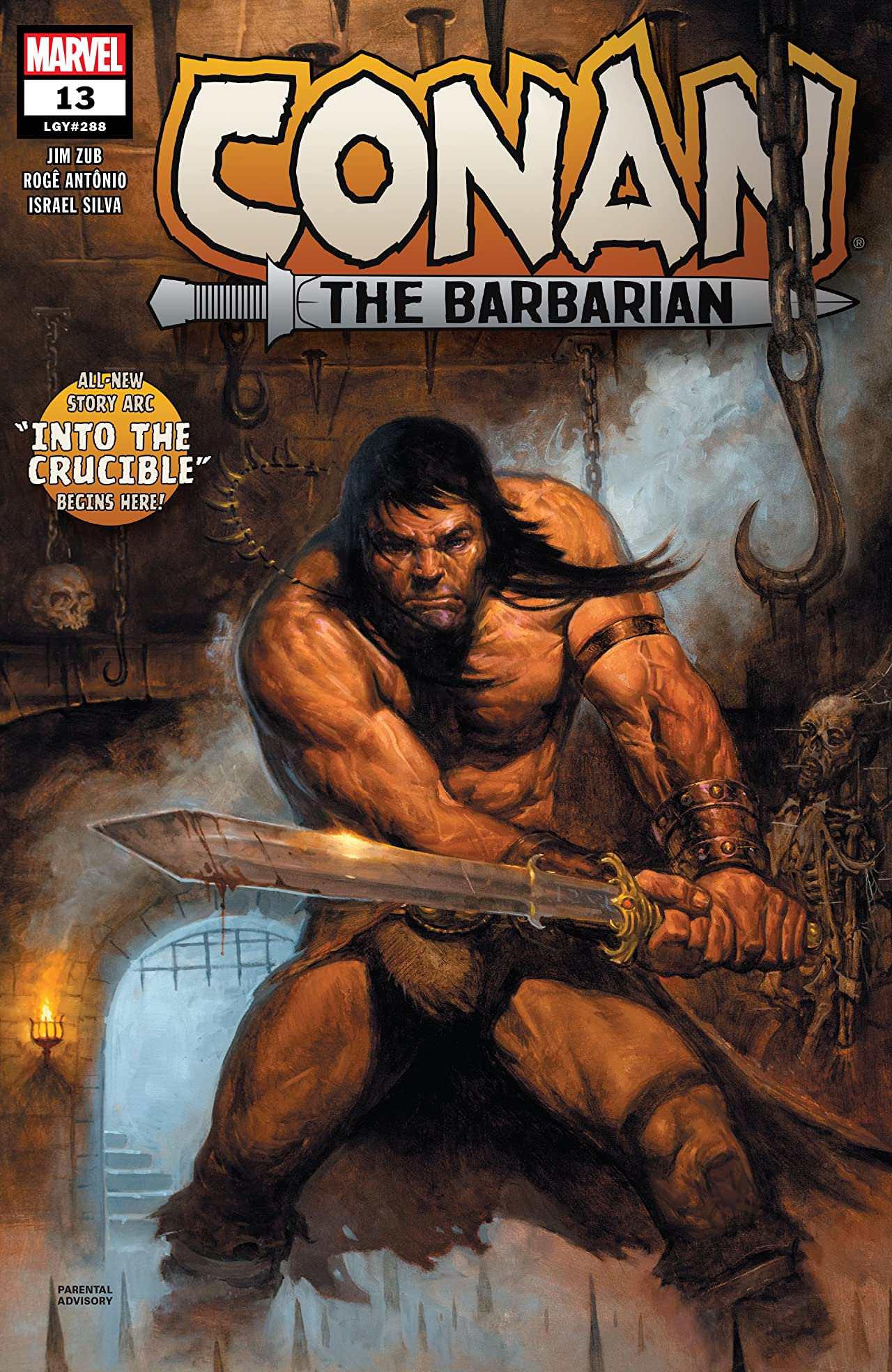 Conan The Barbarian (2019-) No.13