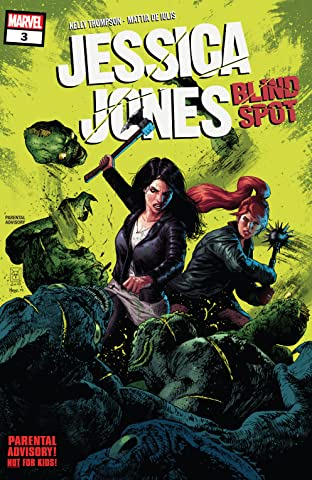 Jessica Jones: Blind Spot (2020) No.3 (sur 6)