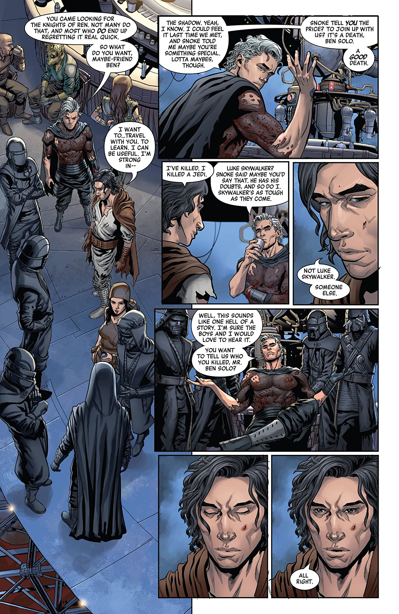 Star Wars: The Rise Of Kylo Ren (2019-) #3 (of 4)