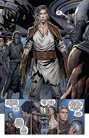 MAIN COVER CLAYTON CRAIN MARVEL COMICS STAR WARS RISE KYLO REN #3 OF 4