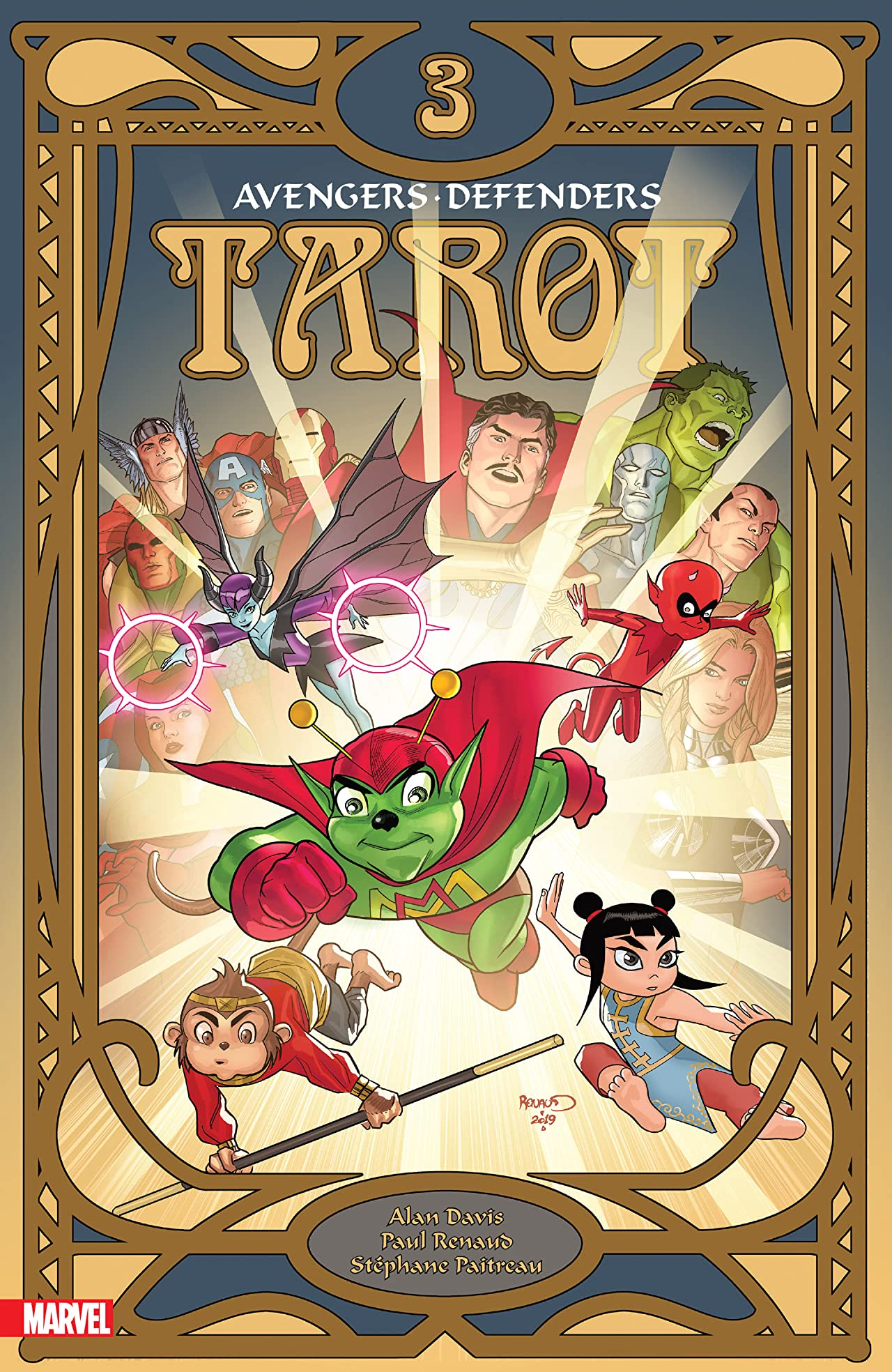 Tarot (2020) No.3 (sur 4)