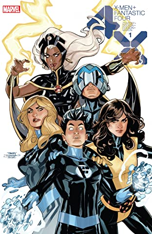 X-Men/Fantastic Four (2020) No.1 (sur 4): Director's Cut