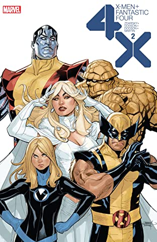 X-Men/Fantastic Four (2020) No.2 (sur 4)