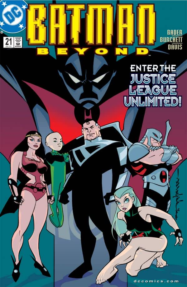 Batman Beyond (1999-2001) #21