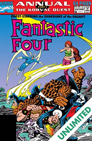 Fantastic Four (1961-1998) Annual #24