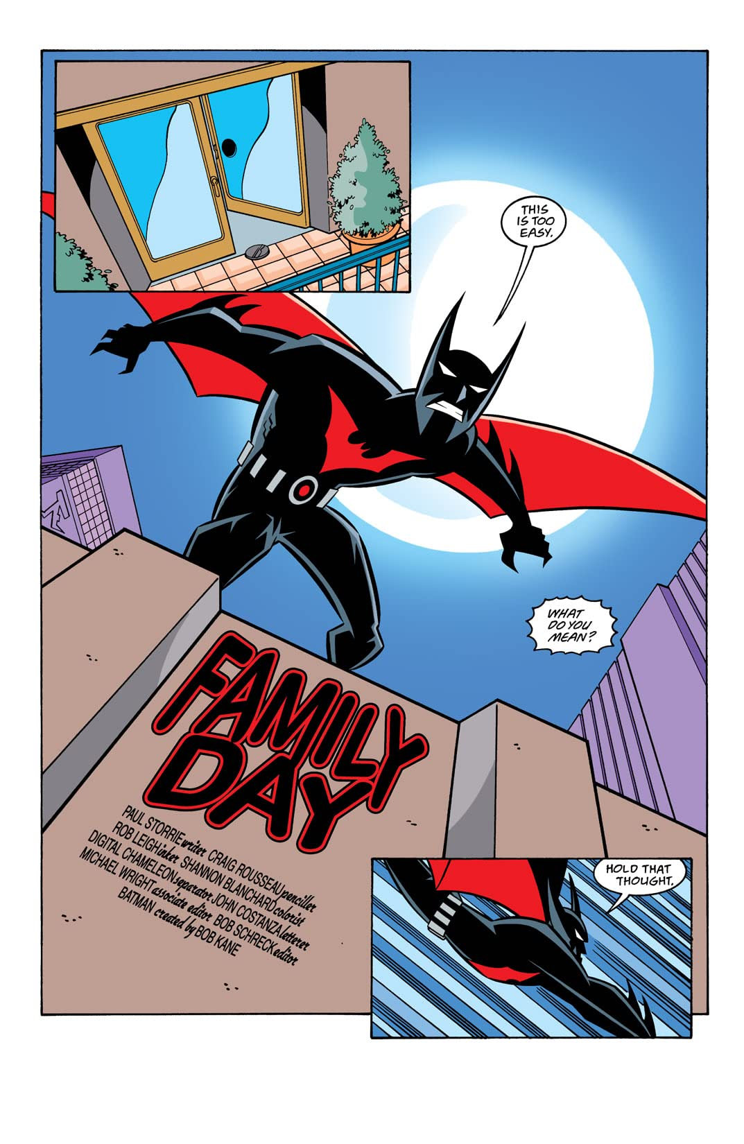 Batman Beyond (1999-2001) #23