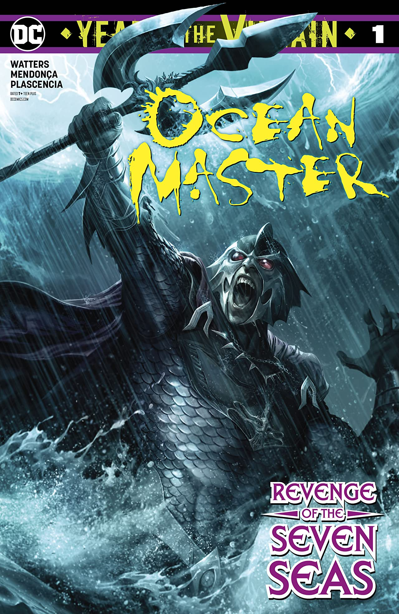 Ocean Master: Year of the Villain (2019-) No.1