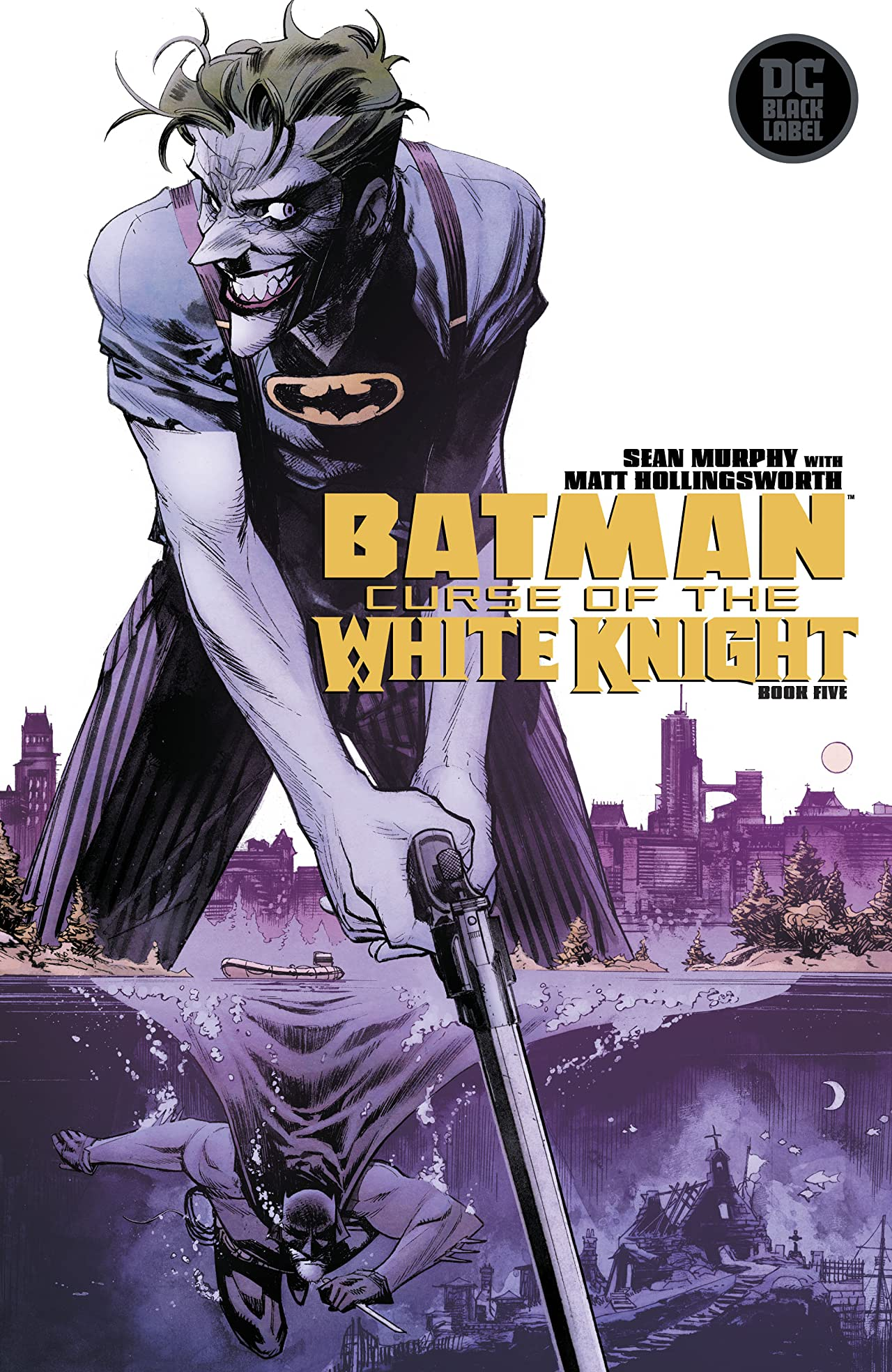 Batman: Curse of the White Knight (2019-) No.5