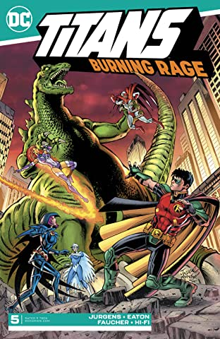 Titans: Burning Rage (2019-) #5