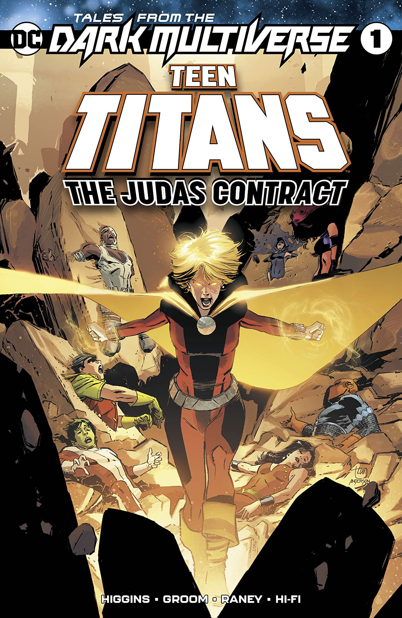 Tales from the Dark Multiverse: Teen Titans The Judas Contract (2019) No.1