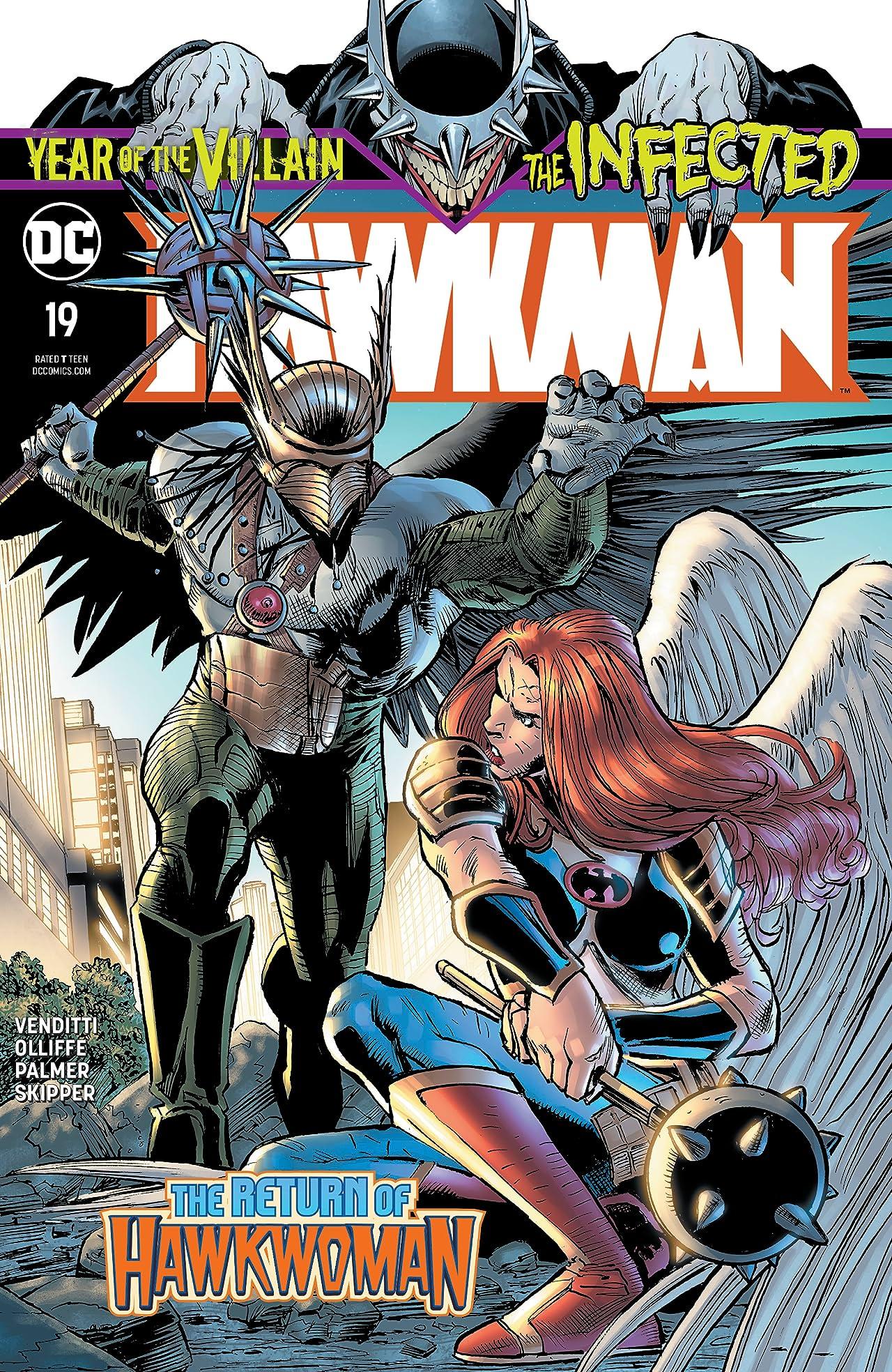 Hawkman (2018-) No.19