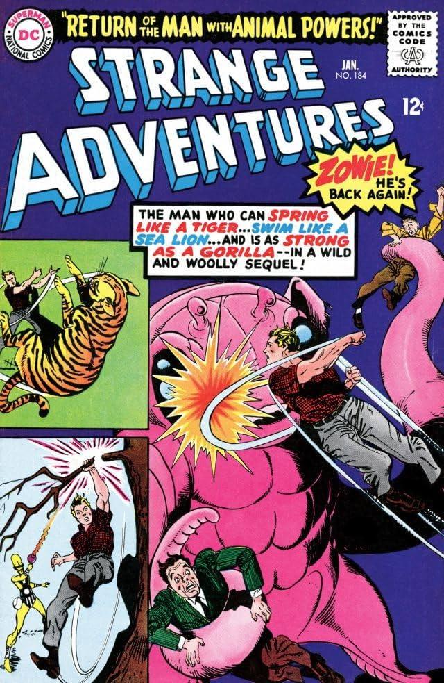 Strange Adventures (1950-1973) #184