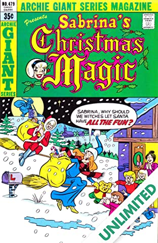 Sabrina's Christmas Magic (Archie Giant Series #479) #8