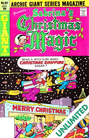 Sabrina's Christmas Magic (Archie Giant Series #491) #9