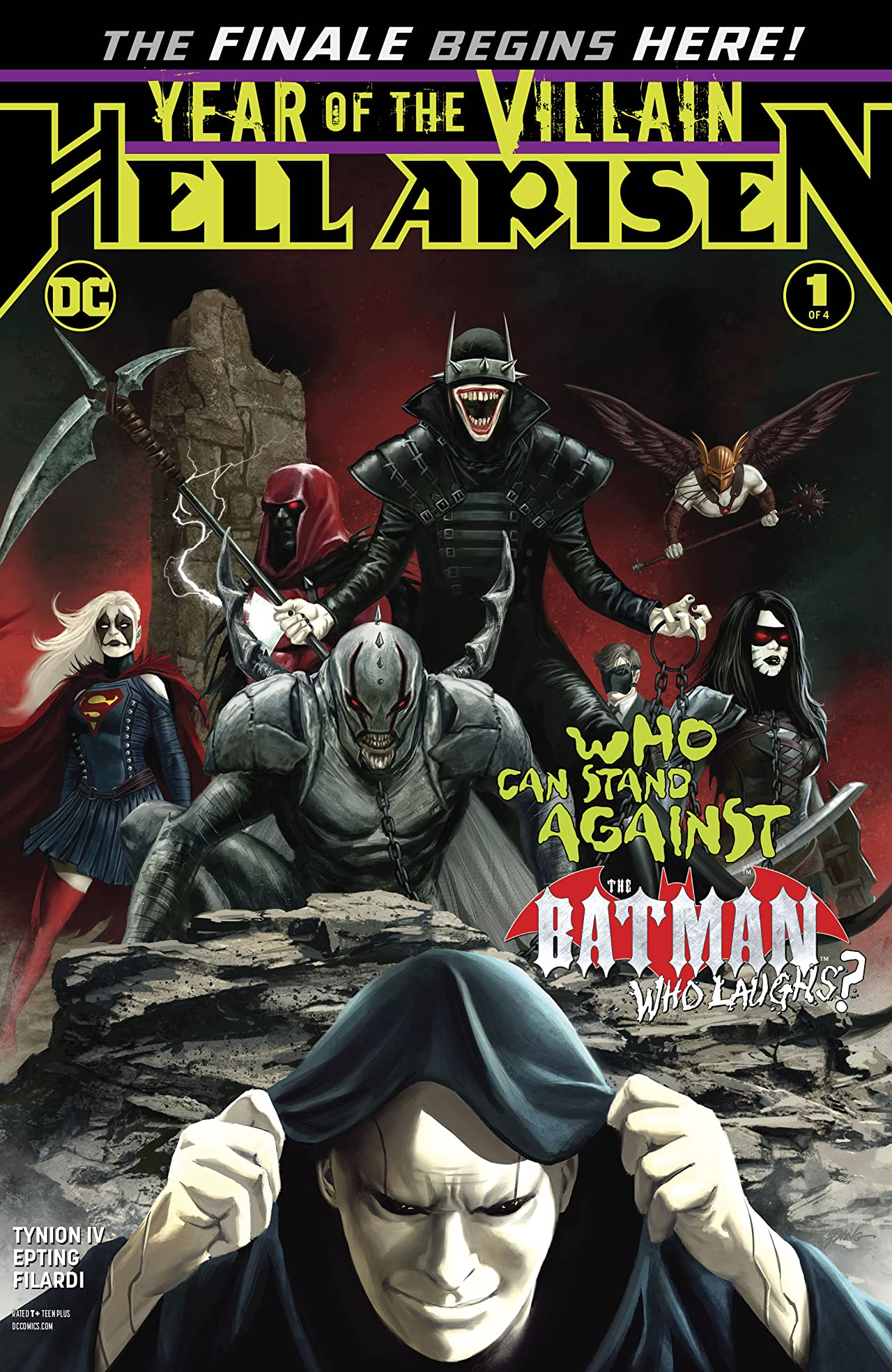 Justice League: Hell Arisen (2019-) No.1