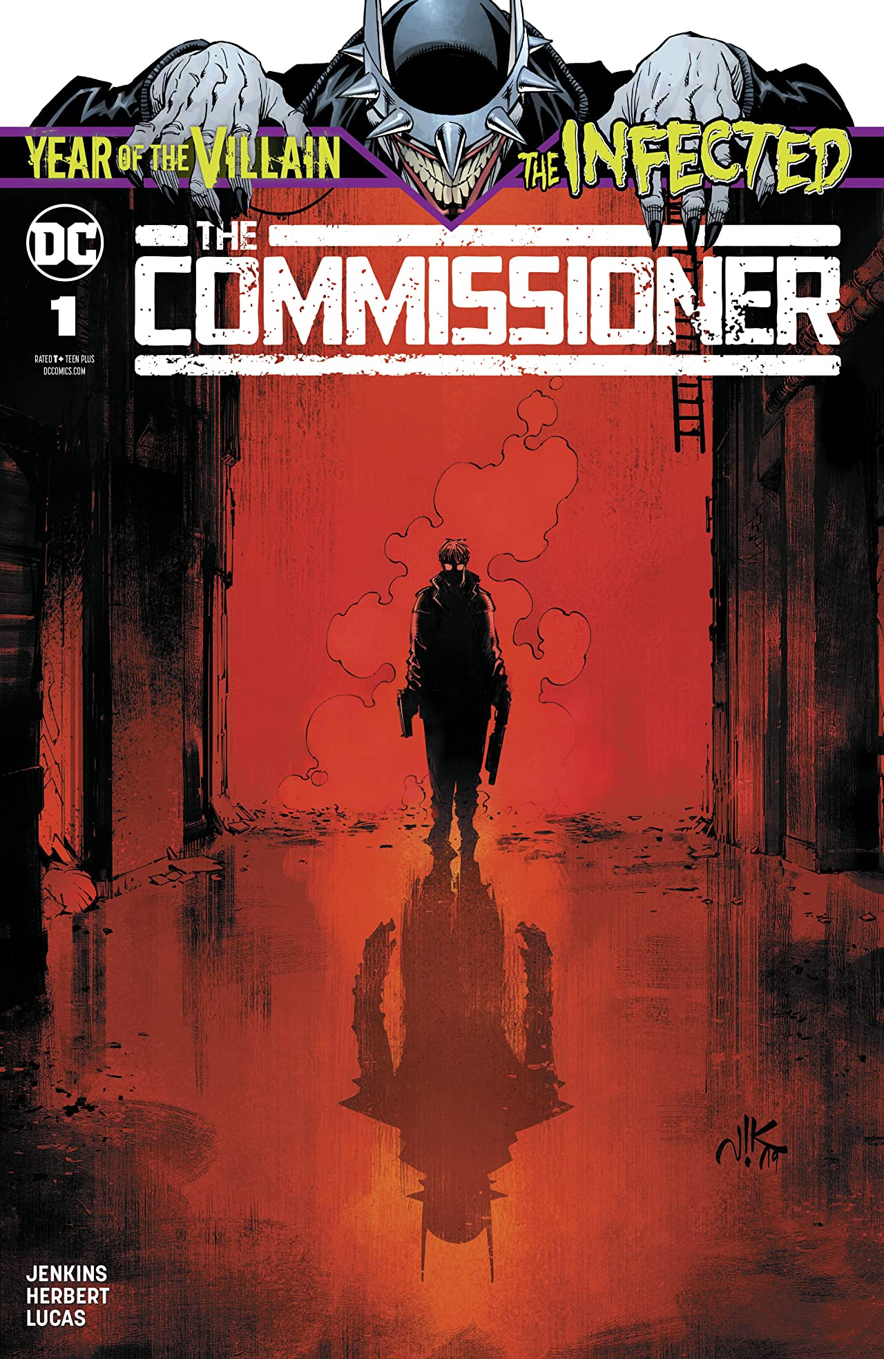 The Infected: The Commissioner (2019) No.1