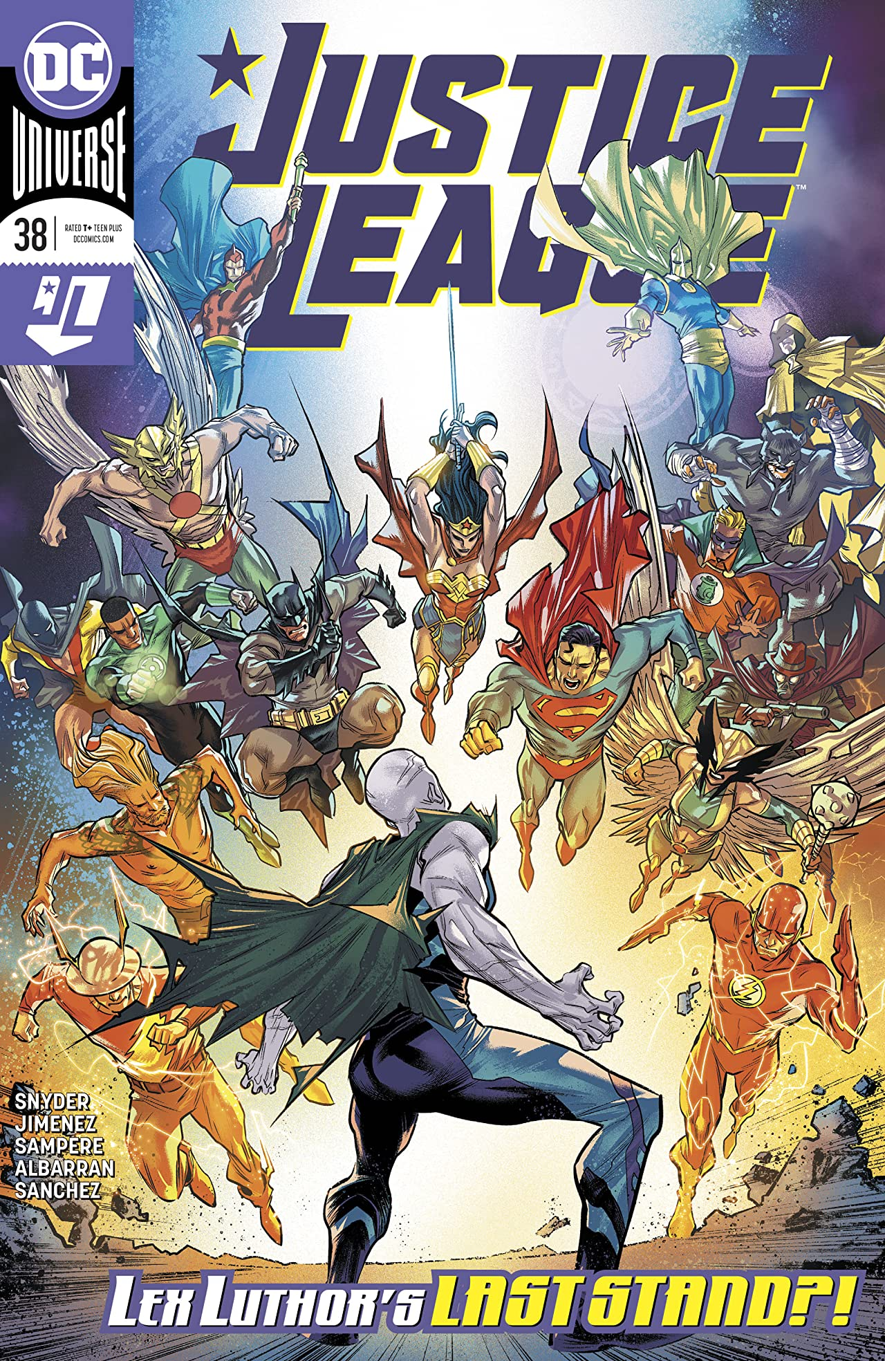 Justice League (2018-) No.38