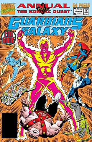 Guardians of the Galaxy (1990-1995) Annual #1