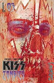 Kiss: Zombies #3