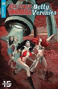 Red Sonja & Vampirella Meet Betty & Veronica #8