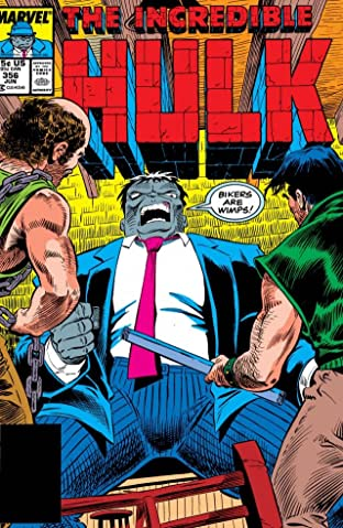 Incredible Hulk (1962-1999) #356