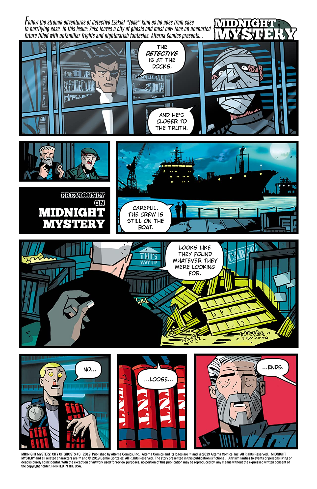 Midnight Mystery: City of Ghosts #3