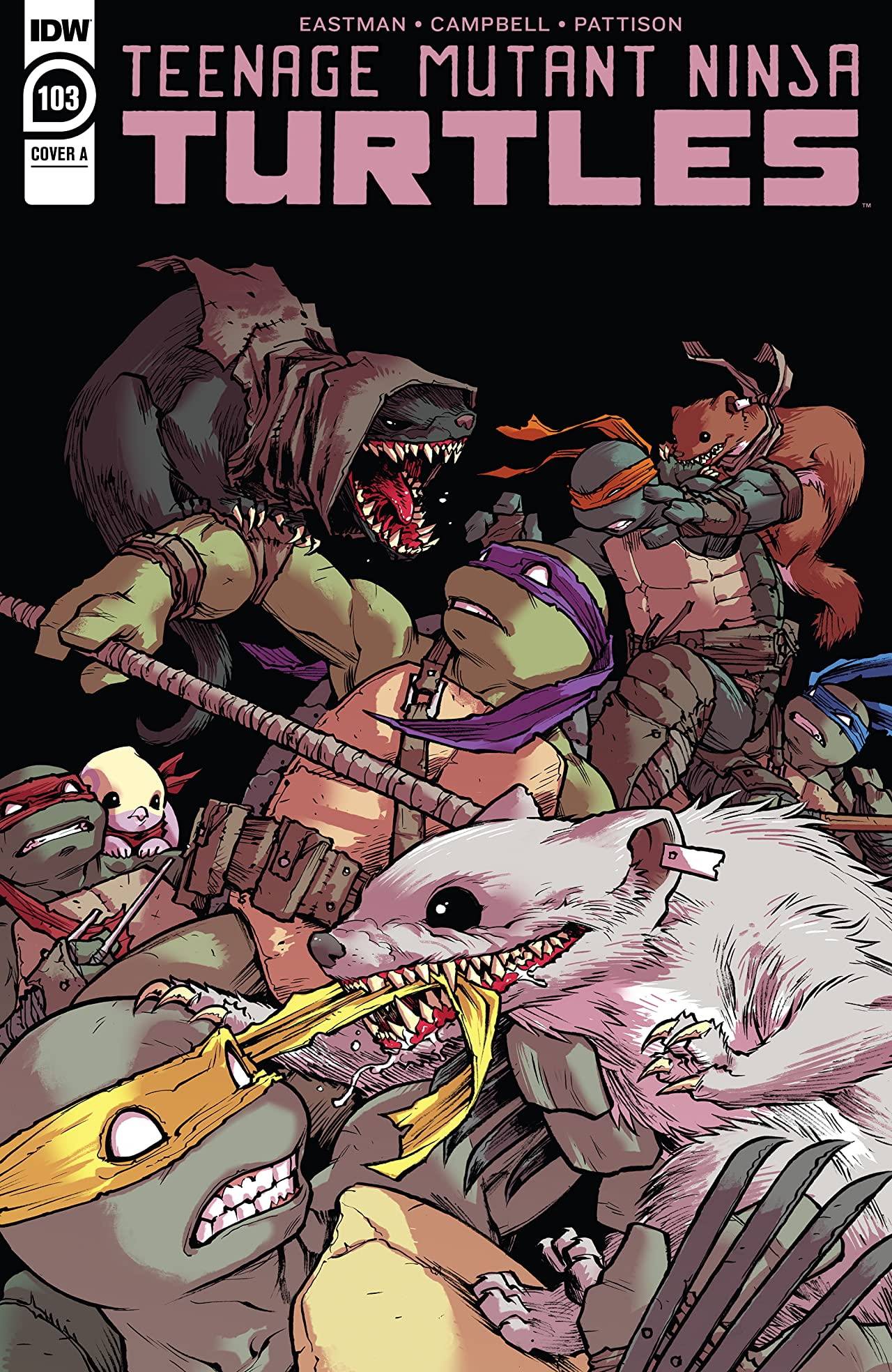 Teenage Mutant Ninja Turtles #103