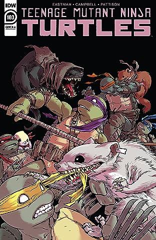 Teenage Mutant Ninja Turtles #103