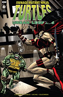 Teenage Mutant Ninja Turtles: Urban Legends #22