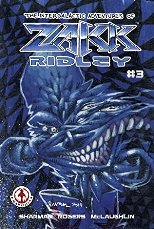 The Intergalactic Adventures of Zakk Ridley #3